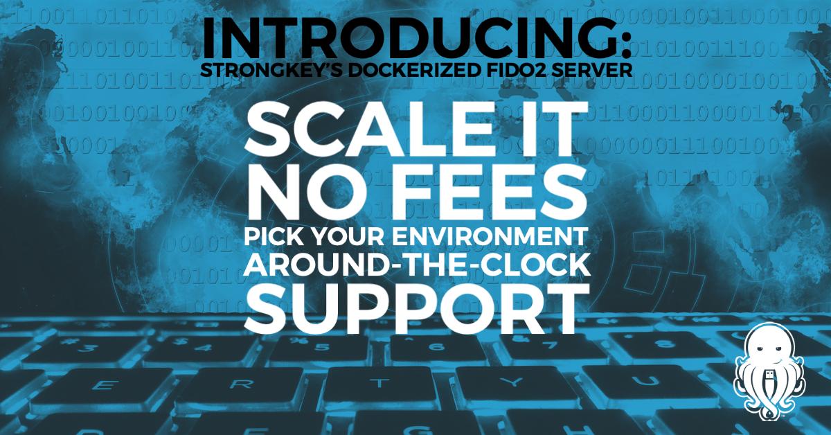 Dockerized Version of FIDO2 Server