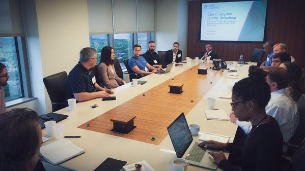 Breakfast Discussion on Data Privacy and Security Regulations