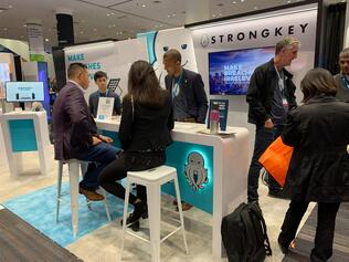 StrongKey's Booth at RSA